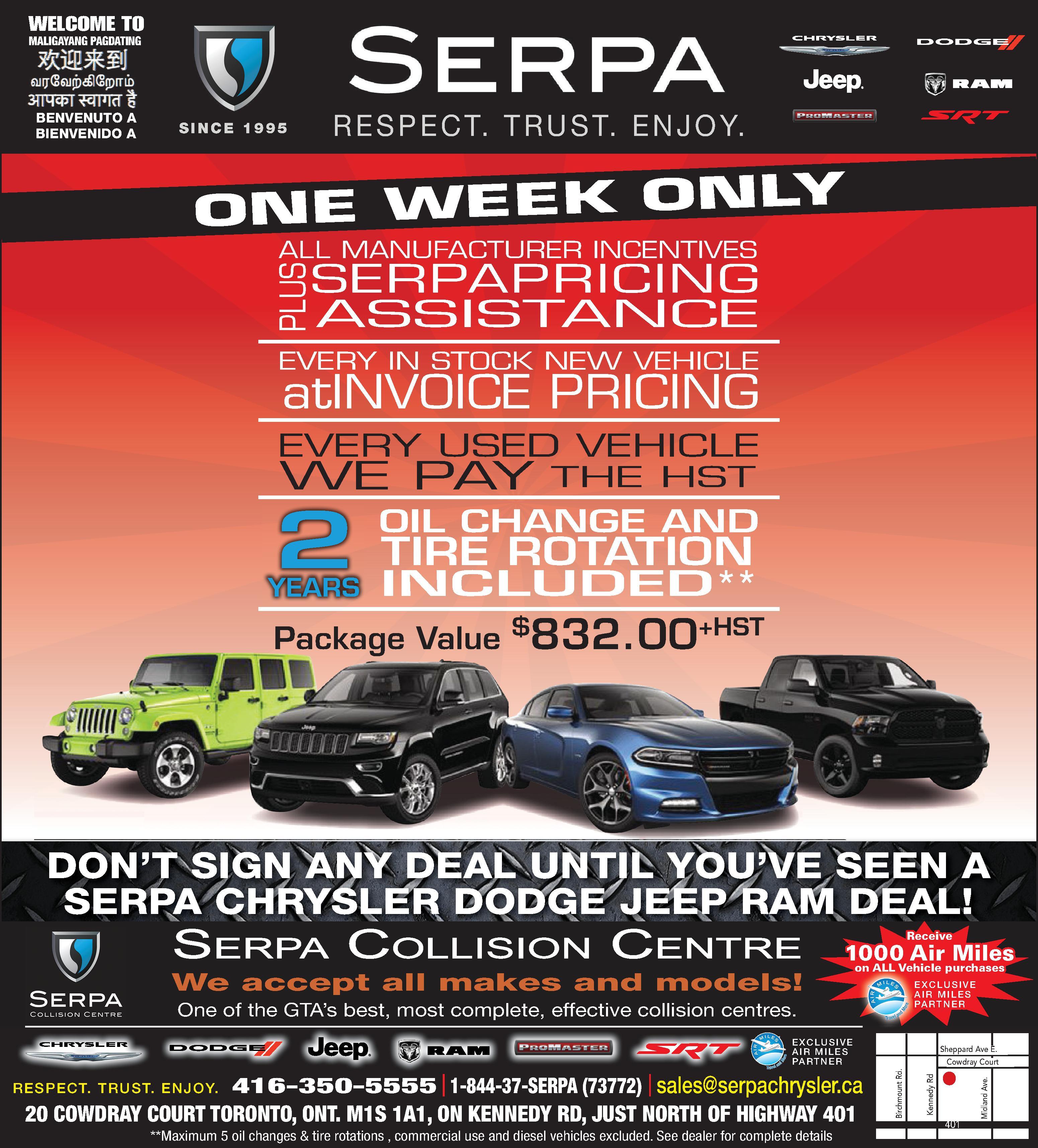 dealer uftring chrysler ad dodge jeep generic see ram slide