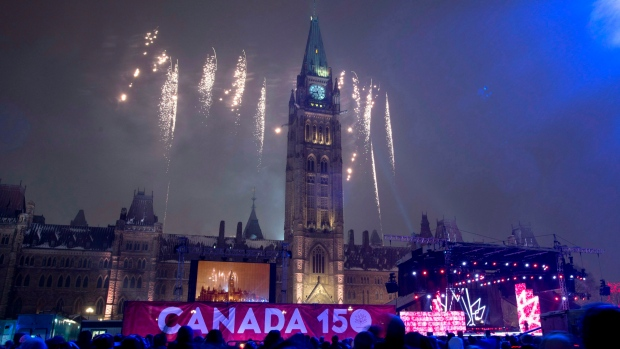 happy new year canada 150 20161231